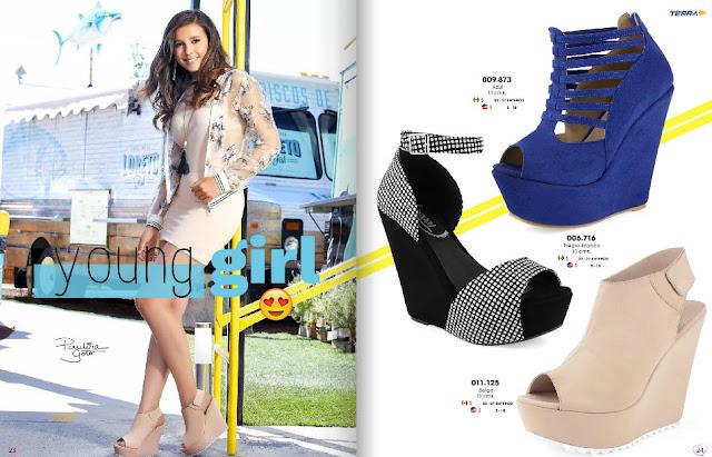 calzado de estilo juvenil para damas