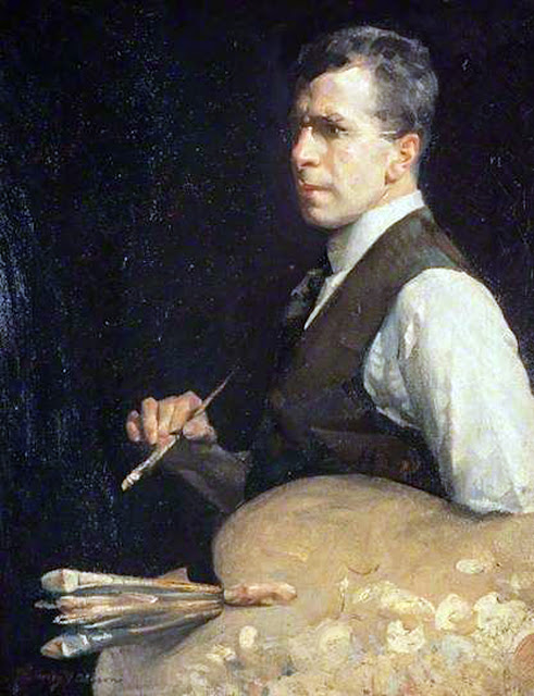 Henry Young Alison, Self Portrait, Portraits of Painters, Fine Art