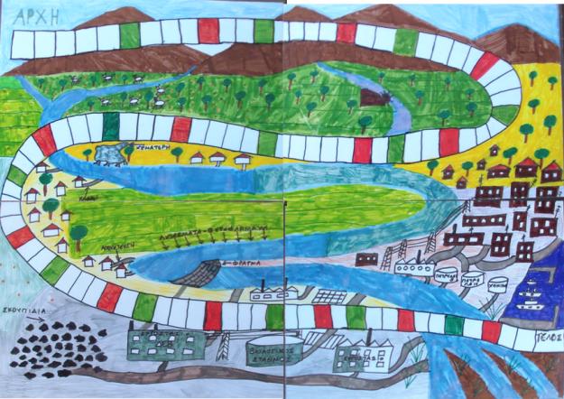 Θεσπρωτία: Μαθητές δημοτικού έφτιαξαν επιτραπέζιο παιχνίδι για τον ποταμό Καλαμά