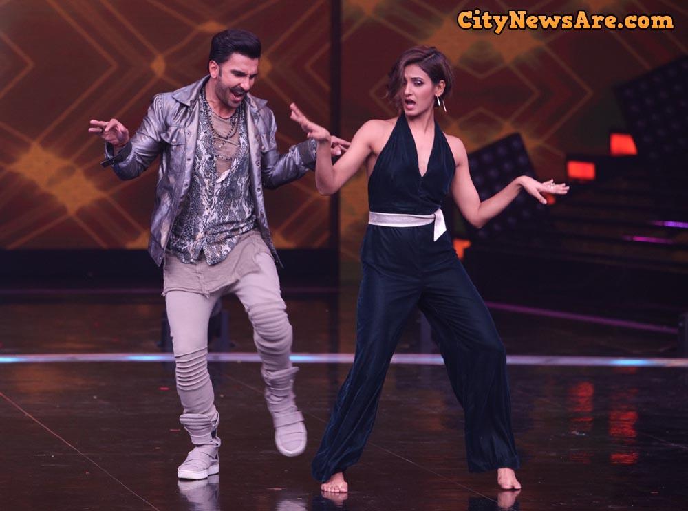 Ranveer Singh and Shakti Mohan on Dance+ 4