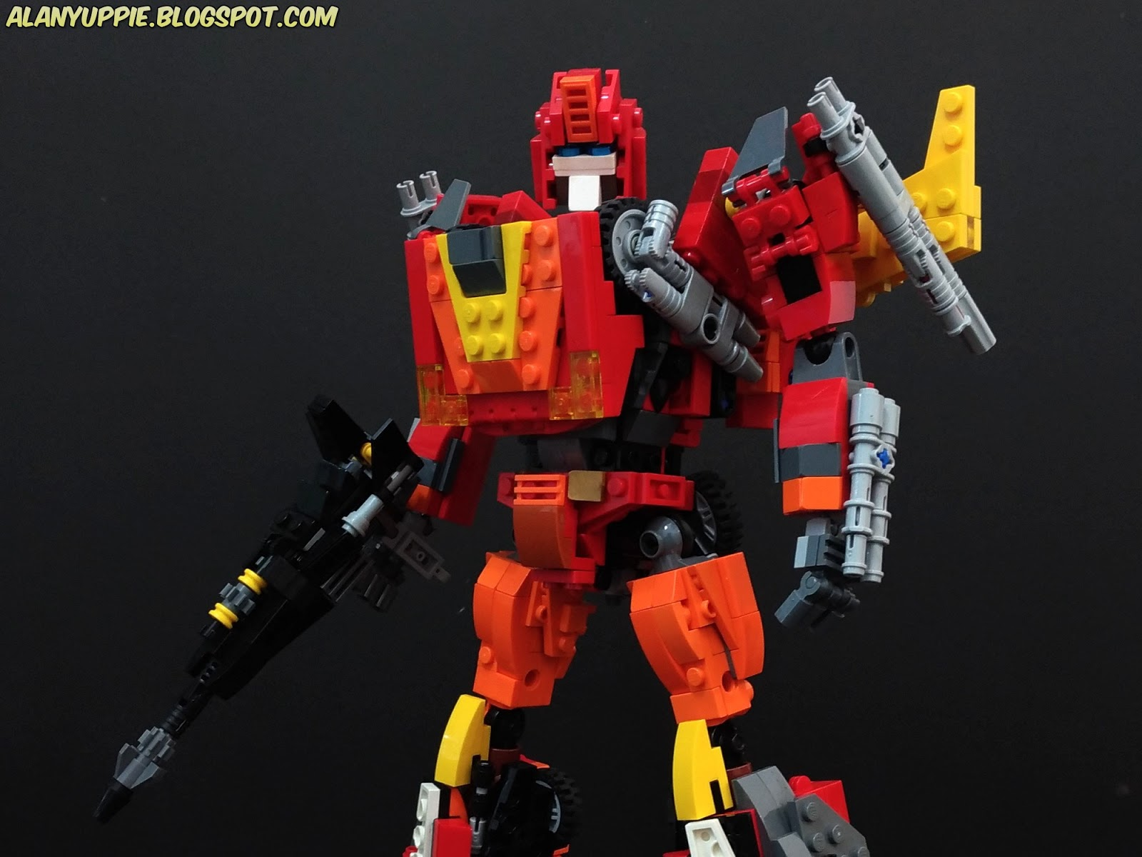 Alanyuppie S Lego Transformers Lego Rodimus Prime Part 3