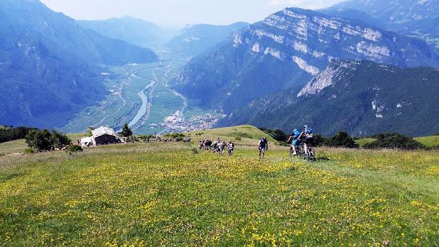 percorso mountain bike brentonico