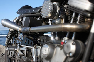 tropical sportster cafe racer engine