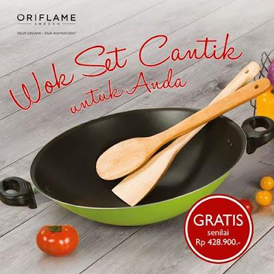 Online Bazaar Oriflame 15-31 Oktober 2016 - Wok Set Oriflame GRATIS