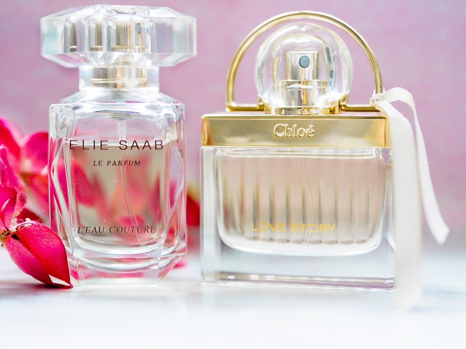 Elie Saab L'Eau Couture Chloe Love Story