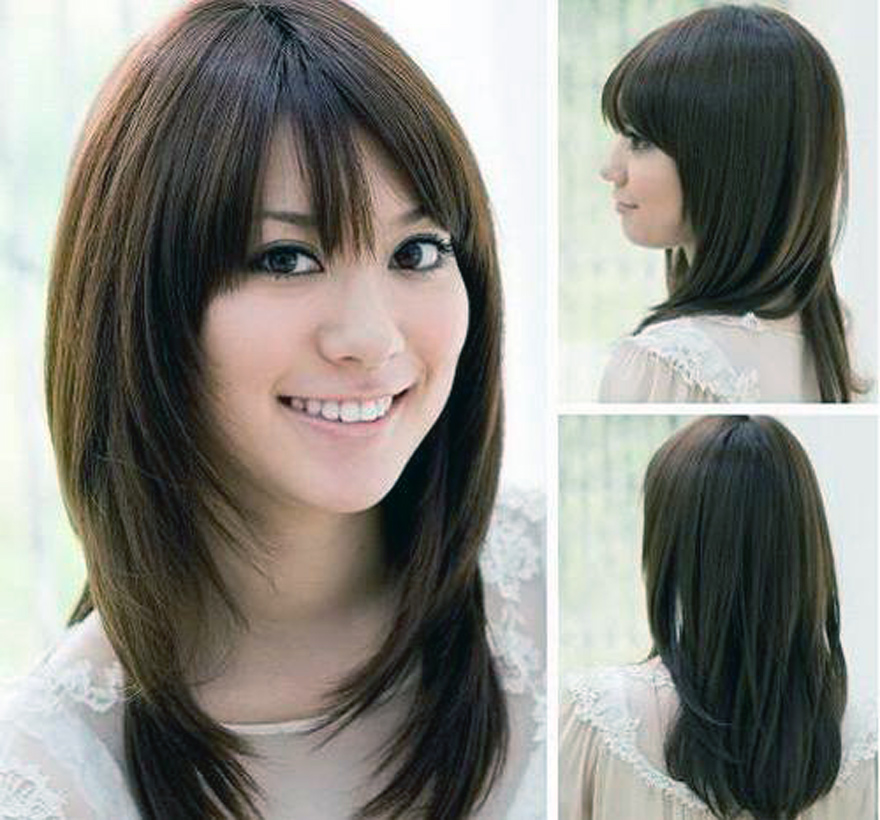 Awesome Hairstyles For Round Faces Short Hairstyle For Oval Faces Women Short Hairstyles Gunalazisus