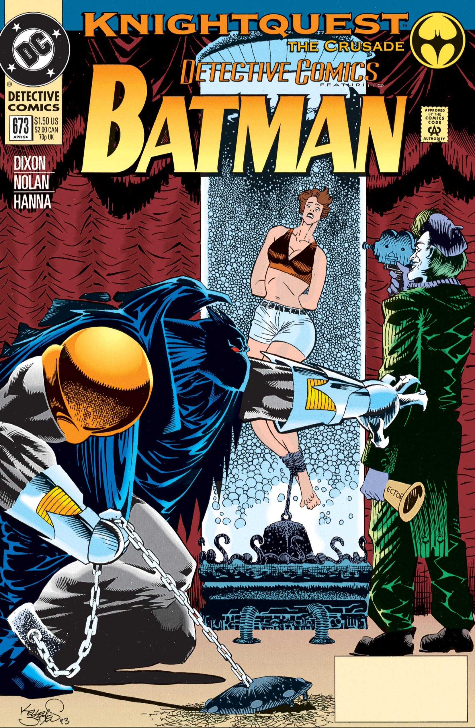 Detective Comics (1937) 673 Page 0