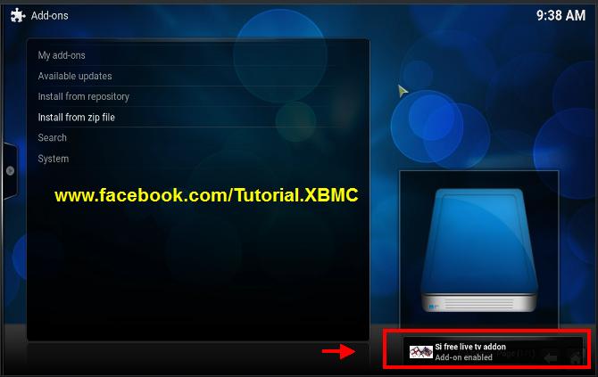 how to add live tv on kodi