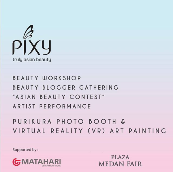 medan beauty  blogger gathering x pixy cosmetic