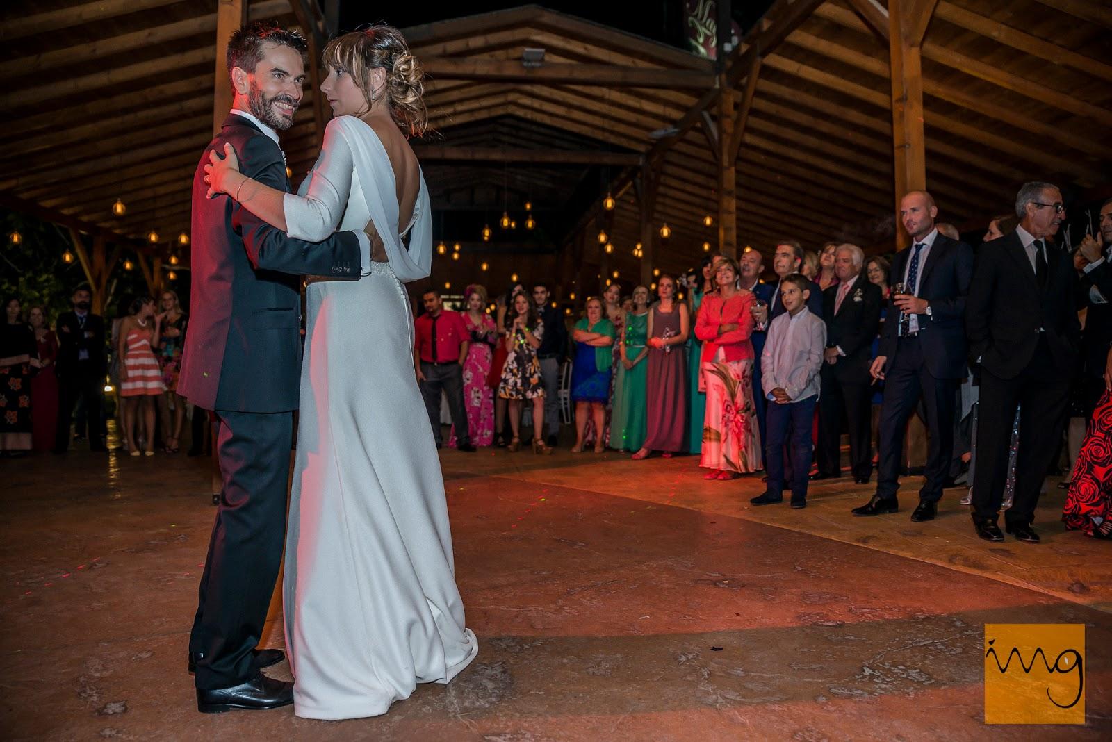 Fotografías del baile de boda