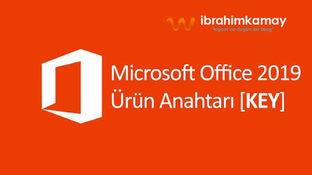 Microsoft Office 2019 Ürün Anahtarı