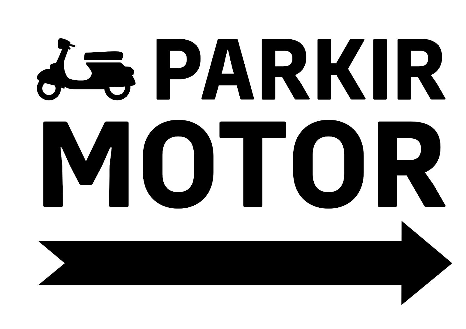 Terbaru 24+ Tanda Parkir Motor, Gambar Rambu Rambu