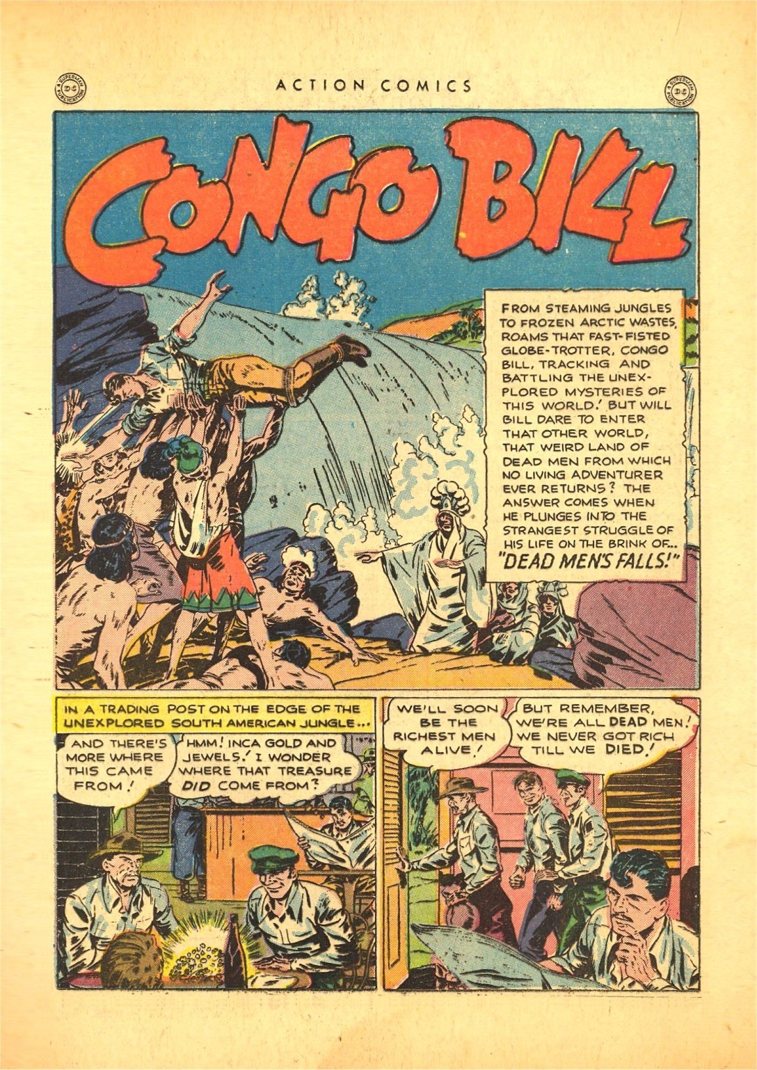 Read online Action Comics (1938) comic -  Issue #87 - 34