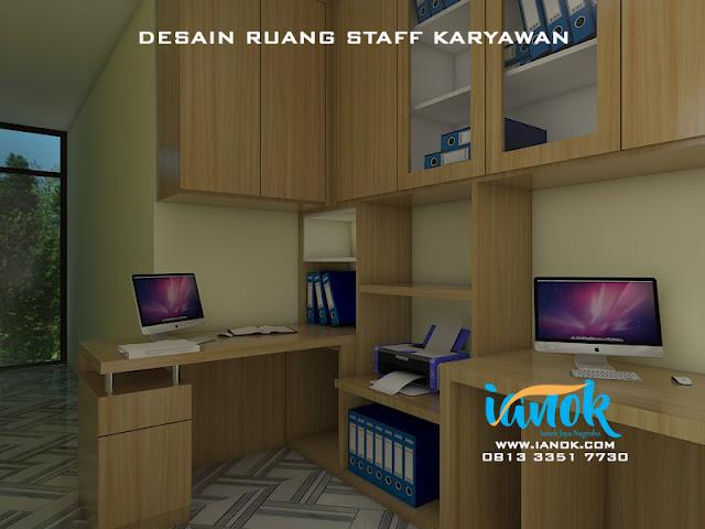 Desain Ruang staff kantor Surabaya sidoarjo