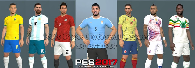 PES 2017 Kitpack National Teams 2019