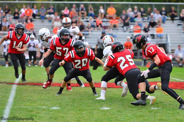 Sophomore Boys Football Vs Washington 9/18/17, Metamora Herald