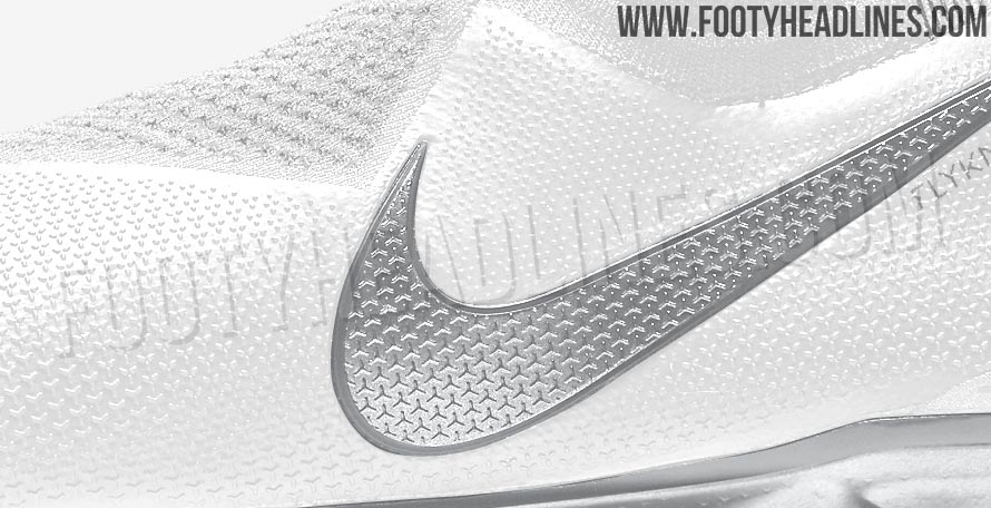 1dff4c0abde5 White / Metallic Silver Nike Phantom Vision 'Nouveau White' Pack Boots  Leaked