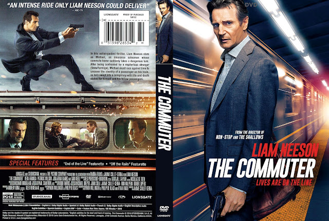 The Commuter (scan) DVD Cover