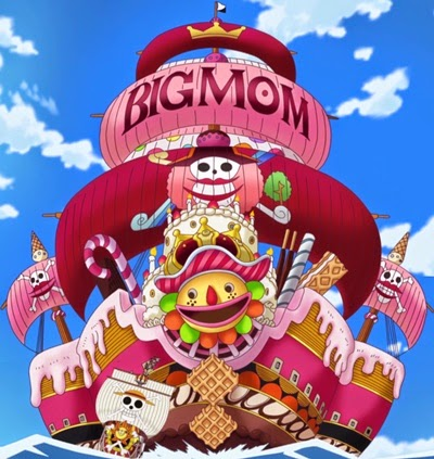 กลุ่มโจรสลัดบิ๊กมัม (Big Mom Pirates) @ www.wonder12.com