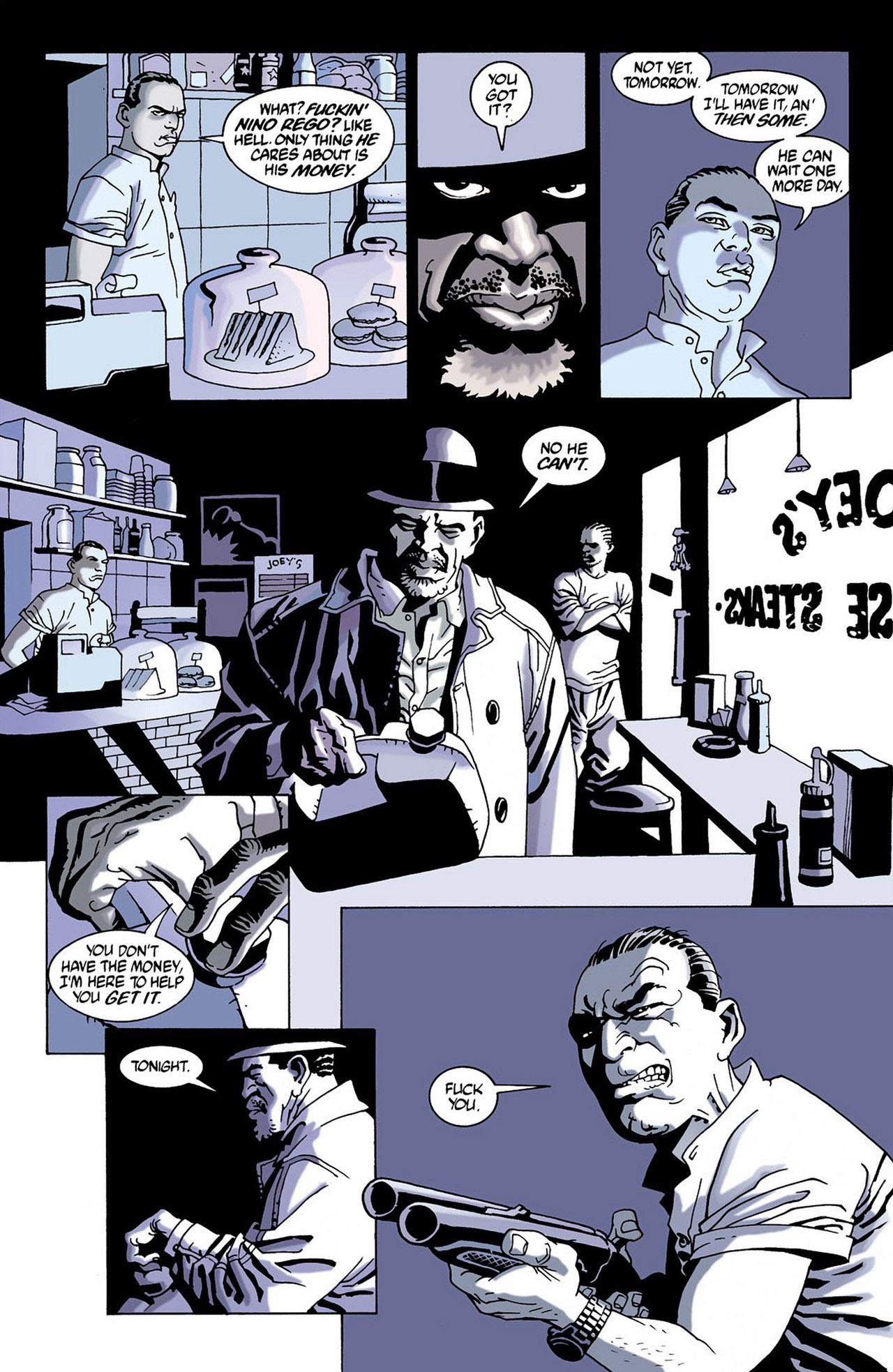 Read online 100 Bullets comic -  Issue #16 - 15