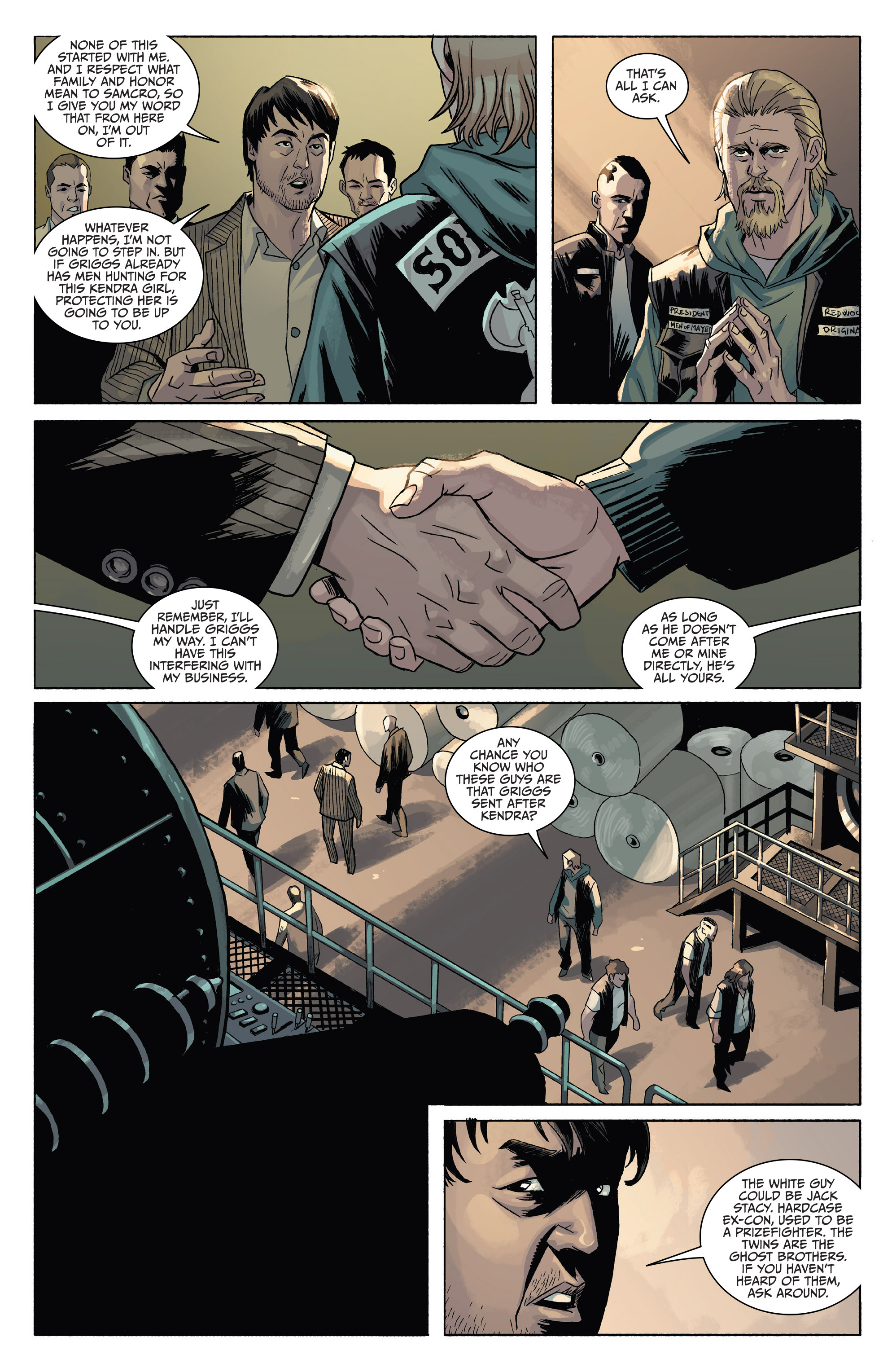 Read online Sons of Anarchy comic -  Issue #4 - 10