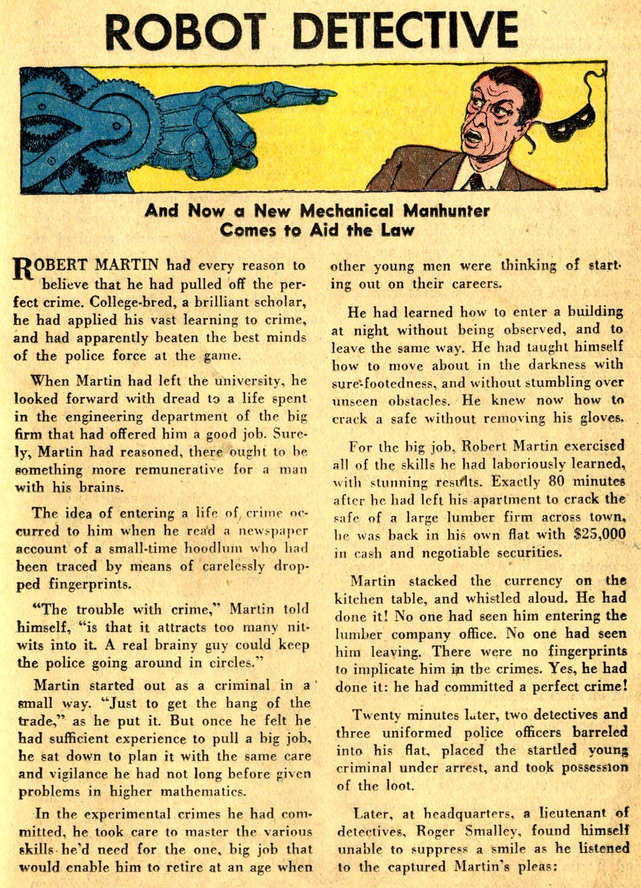 Read online Detective Comics (1937) comic -  Issue #205 - 31