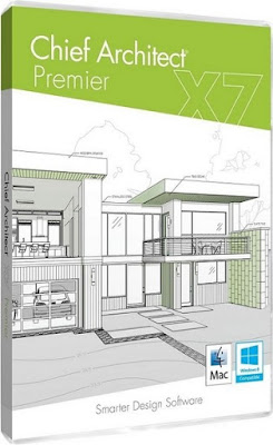 Chief Architect Premier X7 Academic 17.3.1.1 - 2D and 3D design software interior and exterior Free Download
