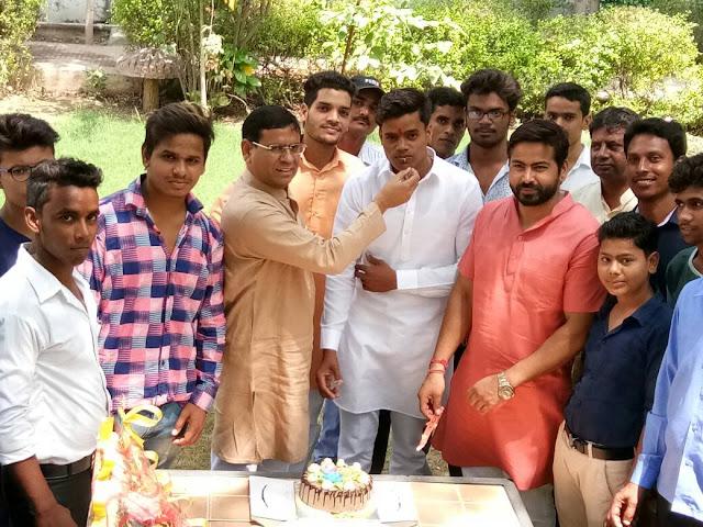 bjp-leader-krishan-pandit-celebration-his-birth-day-tilpat-faridabad