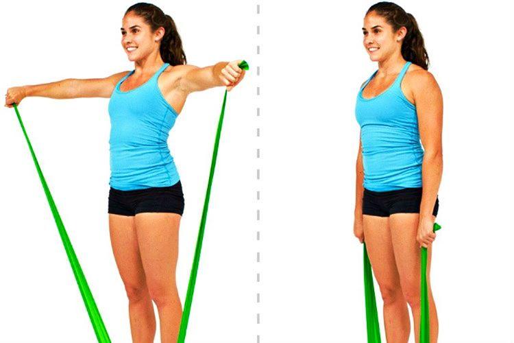 Kol çevirme egzersizi triceps, biseps ve omuzları kaslarını çalıştırmanın harika bir yoludur.