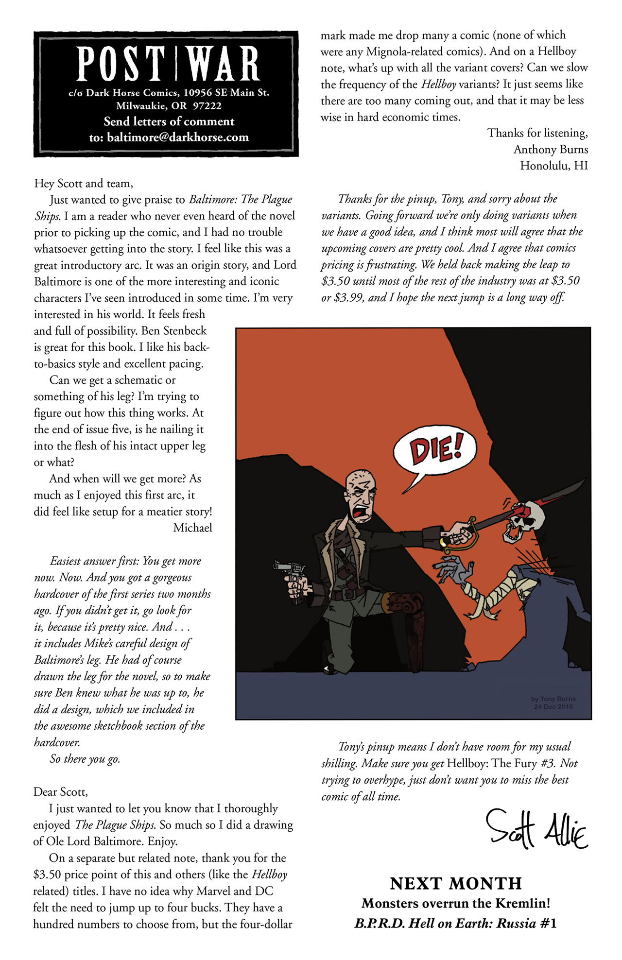 Read online Baltimore: The Curse Bells comic -  Issue #1 - 26