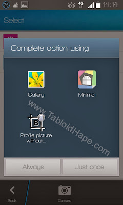 Cara Ganti DP BBM Untuk Android Tanpa Crop