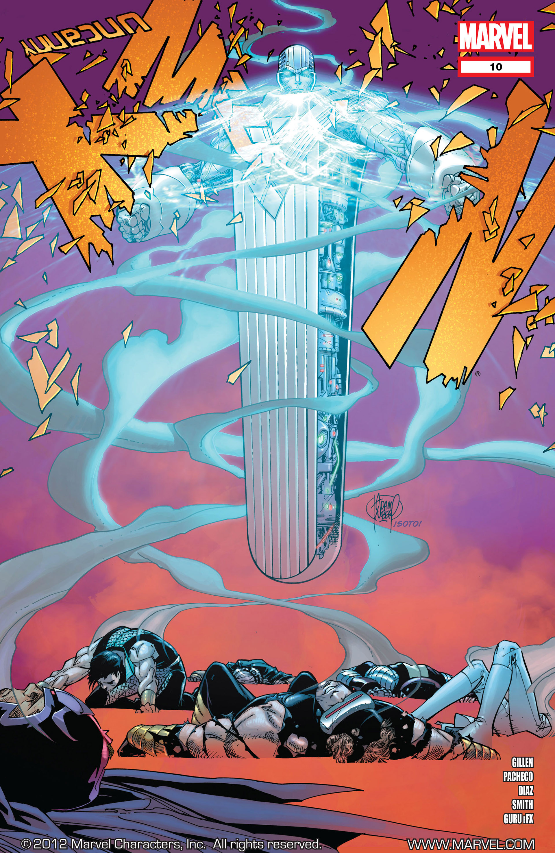 Read online Uncanny X-Men (2012) comic -  Issue #10 - 1