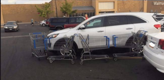 9 vinganças contra maus estacionamentos