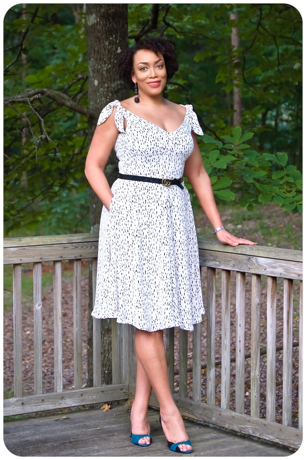 Tie-Shoulder Dress - Erica Bunker DIY Style!