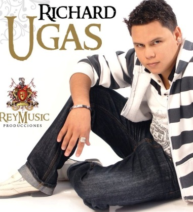 Foto de Richard Ugas en portada de disco