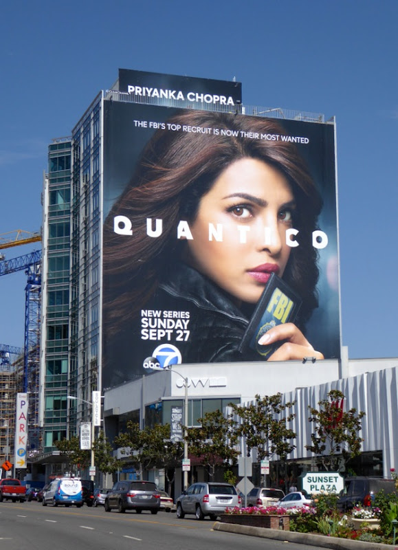 Giant Quantico series premiere billboard