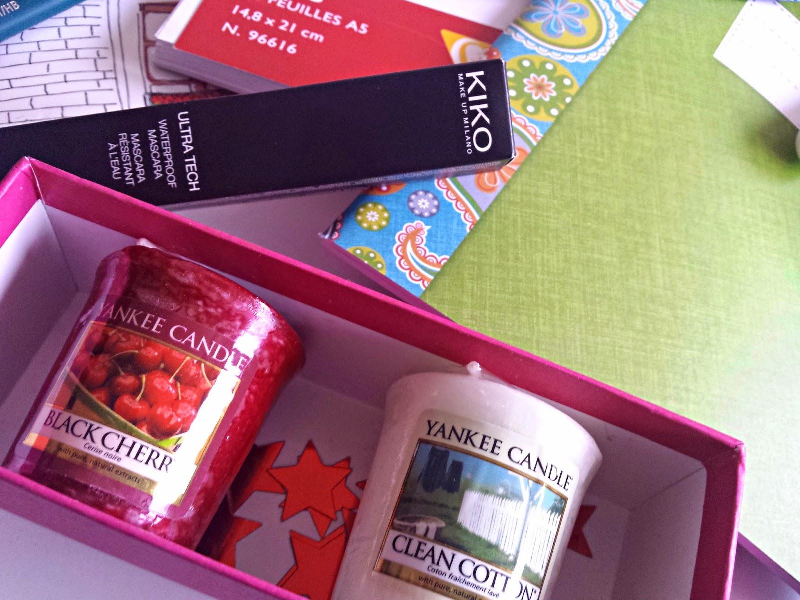 kiko yankee candle cadeau surprise noel