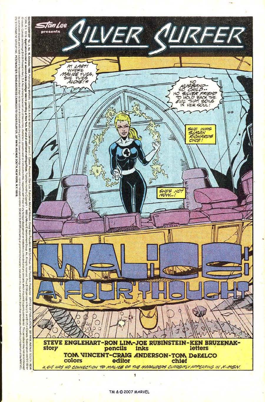 Read online Silver Surfer (1987) comic -  Issue #16 - 3