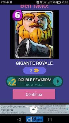 Indovina la carta Royale soluzione livello 14