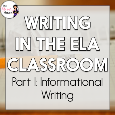 Help students to be able to clearly and accurately convey factual information through writing. In this #2ndaryELA Twitter chat, middle and high school English Language Arts discussed informational writing: favorite assignments, students struggles and solutions, and helpful resources. Read through the chat for ideas to implement in your own classroom.