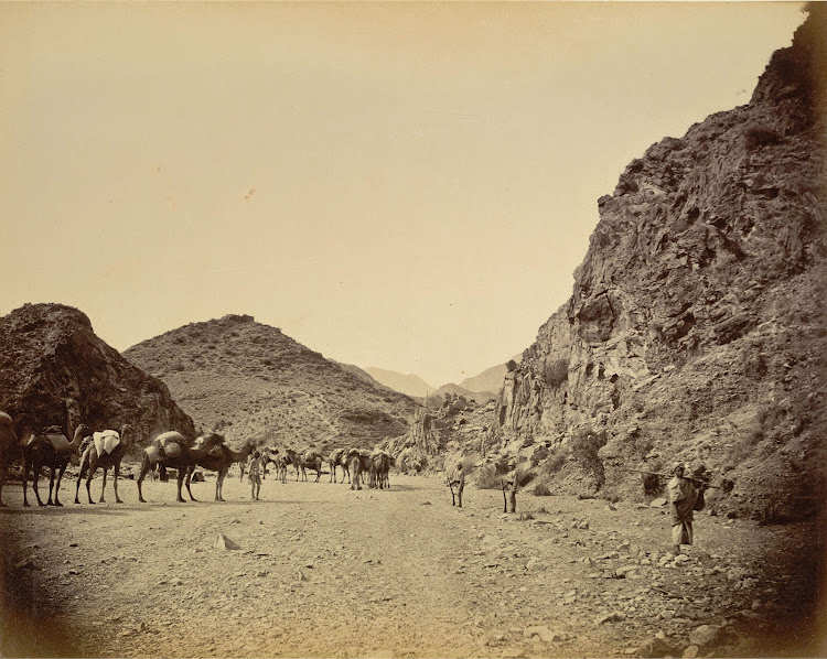 Shadi Bagiar at the Entrance to the Khyber Pass