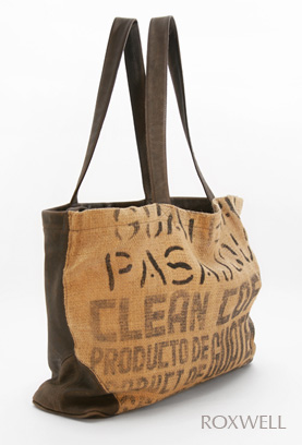 6297393a99 These super stylish bags are made from 100% recycled South American fair  trade coffee sacks