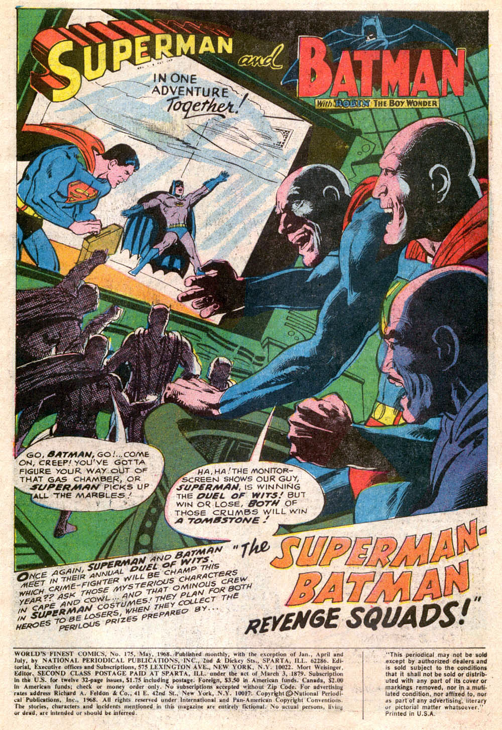 Read online World's Finest Comics comic -  Issue #175 - 3