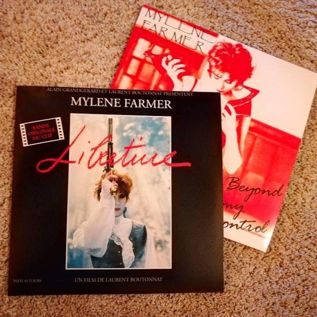 Mylène Farmer - rééditions vinyles 2018 libertine beyond my control