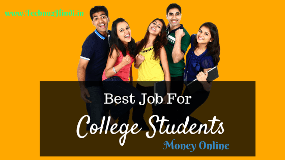 Top 5 Best Part Time Jobs For College Students
