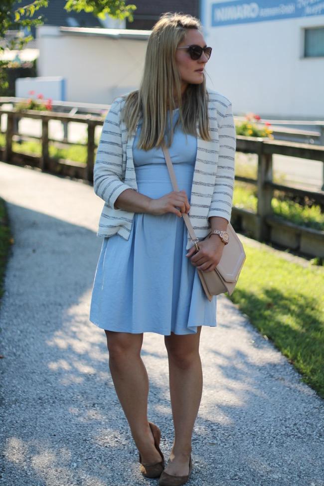 Blaues kleid von h&m | Trendige Kleider für die Saison 2018