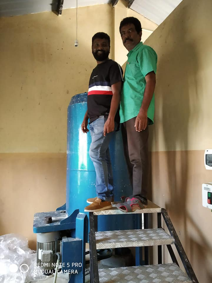 Eco Green Unit: Banana paper making unit@ SriLanka