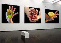 """Cali Rezo : Série Chairs Fraiches - Exposition """"d'Inspiration Jérôme Bosch"""", Galerie de la Marraine"""