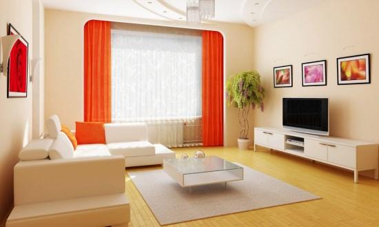 Sofa Santai Untuk Nonton Tv pada ruang keluarga