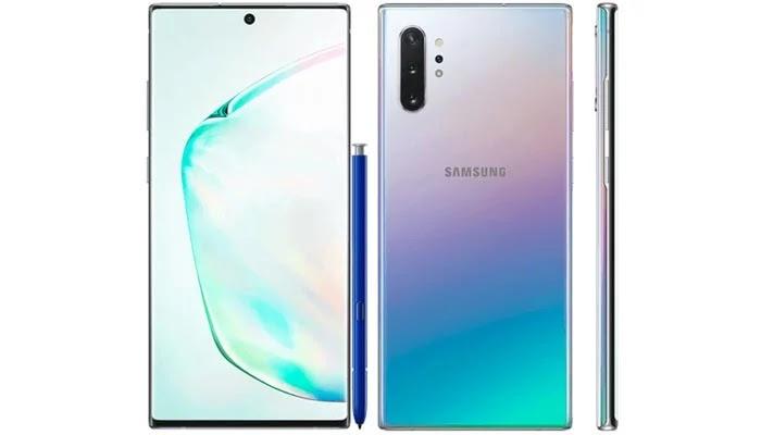 Samsung Galaxy Note 10 Desain